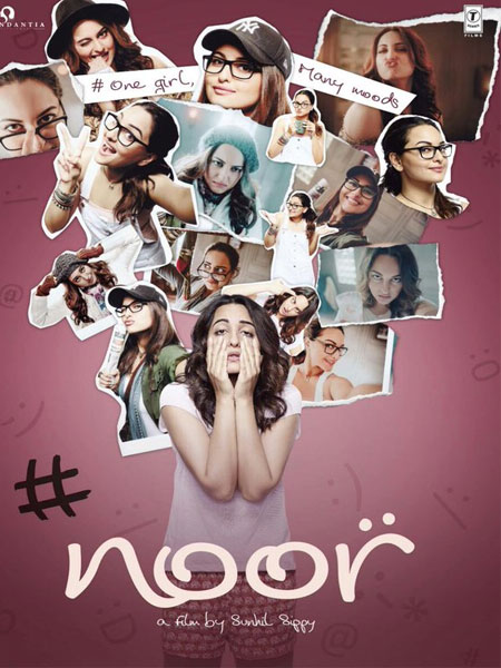 Noor , Noor First Look, Noor Poster, Noor Sonakshi Sinha, Noor Images, Noor Pictures, Noor Photos