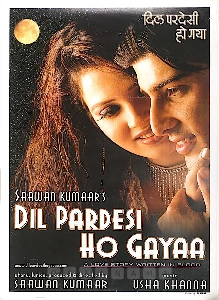 Dil Pardesi Ho Gayaa.2003 Hindi 720p WEB.DL 1.2GB Download