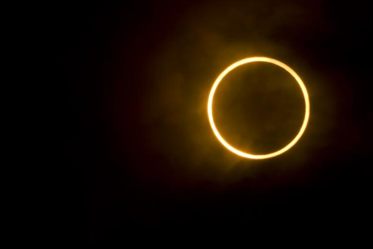 bila gerhana matahari cincin