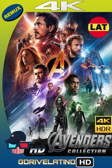Avengers Colección (2012-2019) REMUX 4K HDR Latino-Ingles MKV