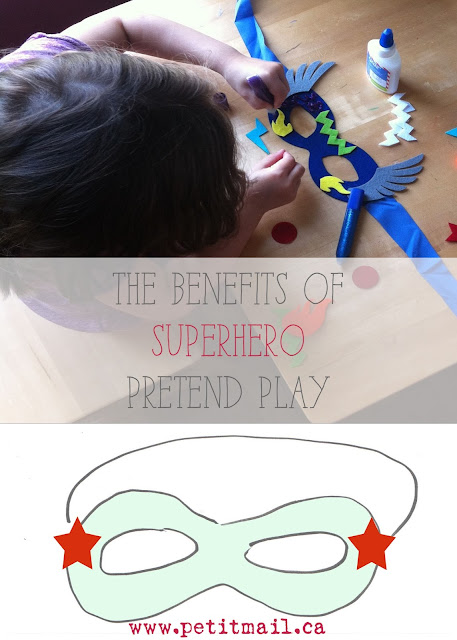 The Benefits of Superhero Pretend Play