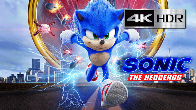Sonic, la película (2020) Web-DL 4K UHD [HDR] Latino-Ingles