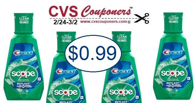 http://www.cvscouponers.com/2018/08/hot-crest-scope-mouthwash-only-099-at.html