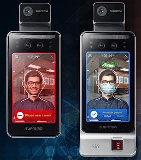 terminal de reconocimiento facial Suprema FaceStation