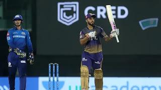 Nitish Rana 57 vs Mumbai Indians Highlights