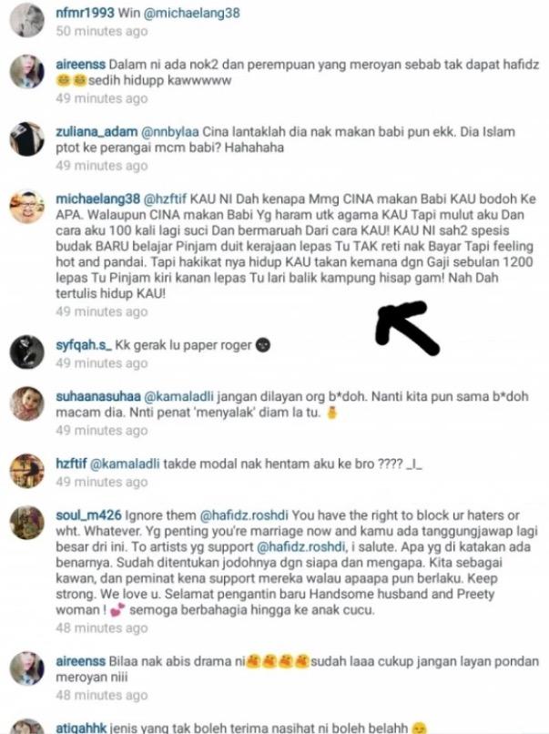 Rakan Artis 'Back Up' Isteri Hafidz Roshdi Yang Dihina Kerana Tak Cantik
