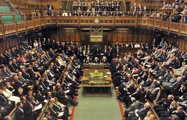 लंदन : हाउस आफ कॉमंस में ब्रेक्जिट बिल पास