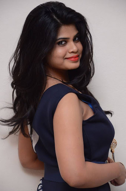 Alekhya Stills At Plus One Movie Audio Launch