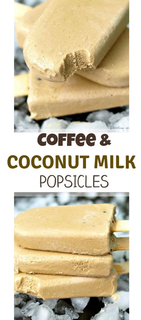Espresso AND COCONUT MILK POPSICLES #coconut