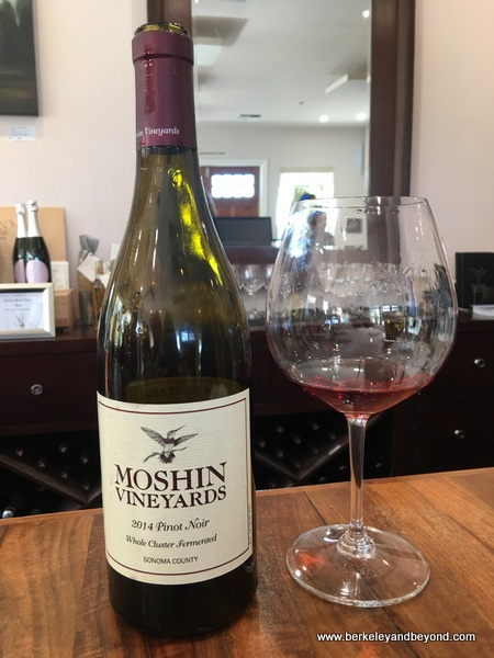2014 Pinot Noir at Moshin Vineyards in Healdsburg, California