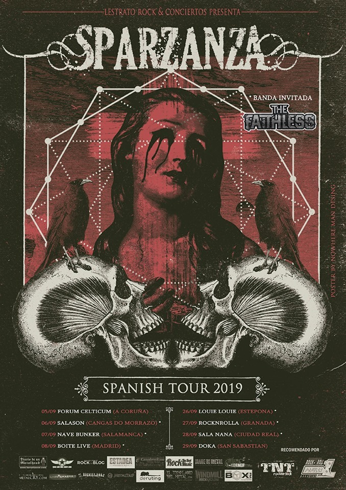 Sparzanza spanish tour