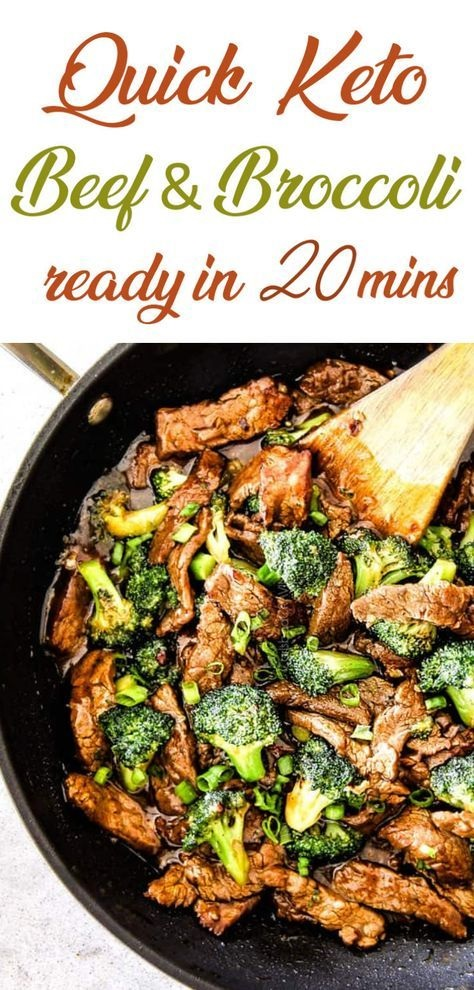 Paleo Keto Beef And Broccoli Stir Fry