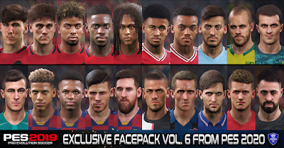 PES 2019 Exclusive Facepack Vol. 6 by Sofyan Andri
