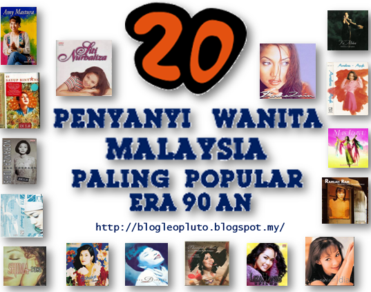 20 Penyanyi Wanita Malaysia Paling Popular Di Era 90 An Blog Leo Pluto