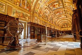 Real Biblioteca de San Lorenzo del Escorial, viajes y turismo