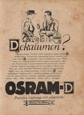 Iklan Lampu Osram