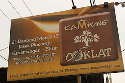 Ayo Nyoklat di Kampung Coklat Blitar