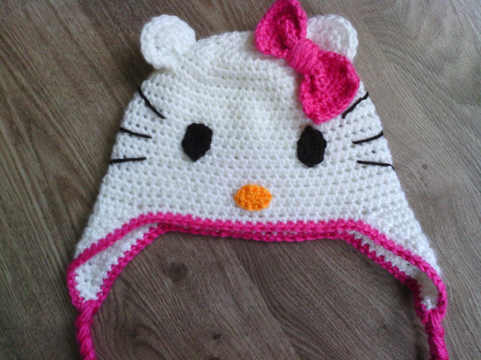 Lutje Haakt Meer Hello Kitty Muts