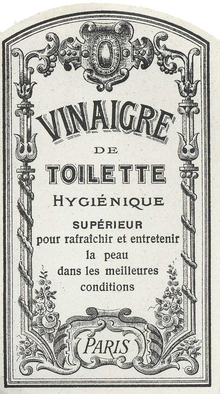 des modes l 39 usage des vinaigres de toilette selon la baronne staffe. Black Bedroom Furniture Sets. Home Design Ideas