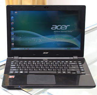 Laptop Acer Aspire E5-421 AMD A6-6310 di Malang