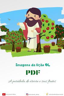 PDF da lição a parábola da árvore e seus frutos