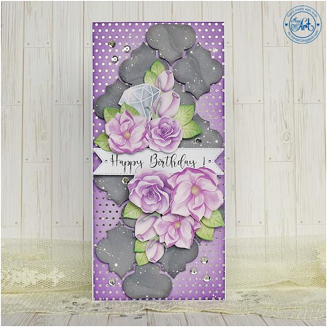 Happy Birthday card – DT Craft Passion