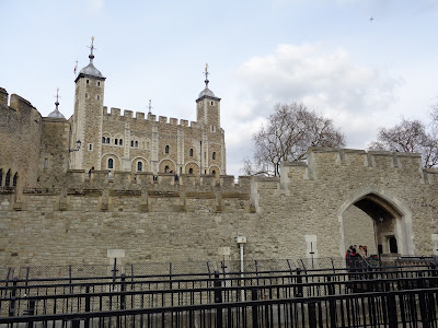 The Tower Castle in London