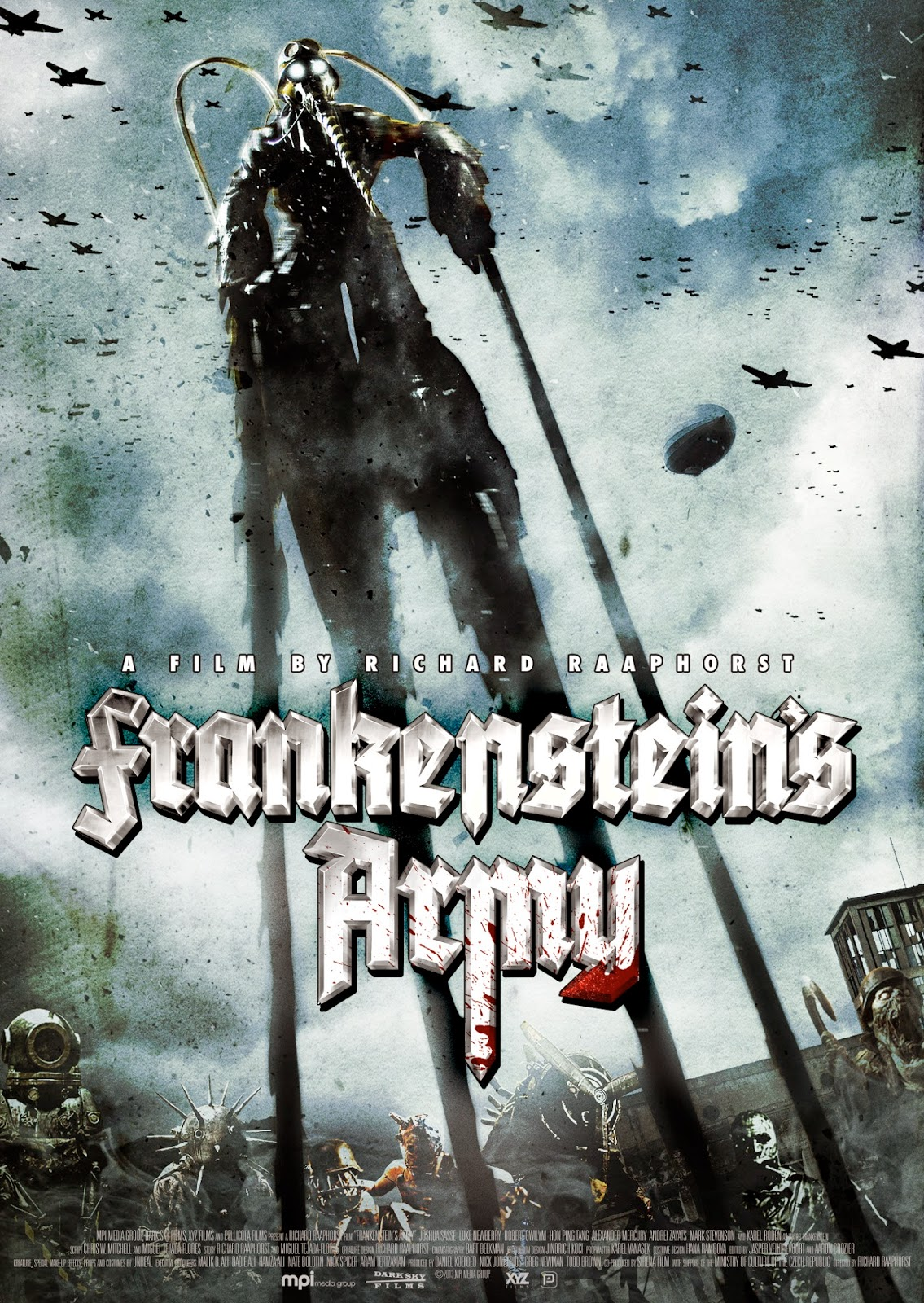 Review: Frankenstein's Army (2013) ~ The Paradise of Horror