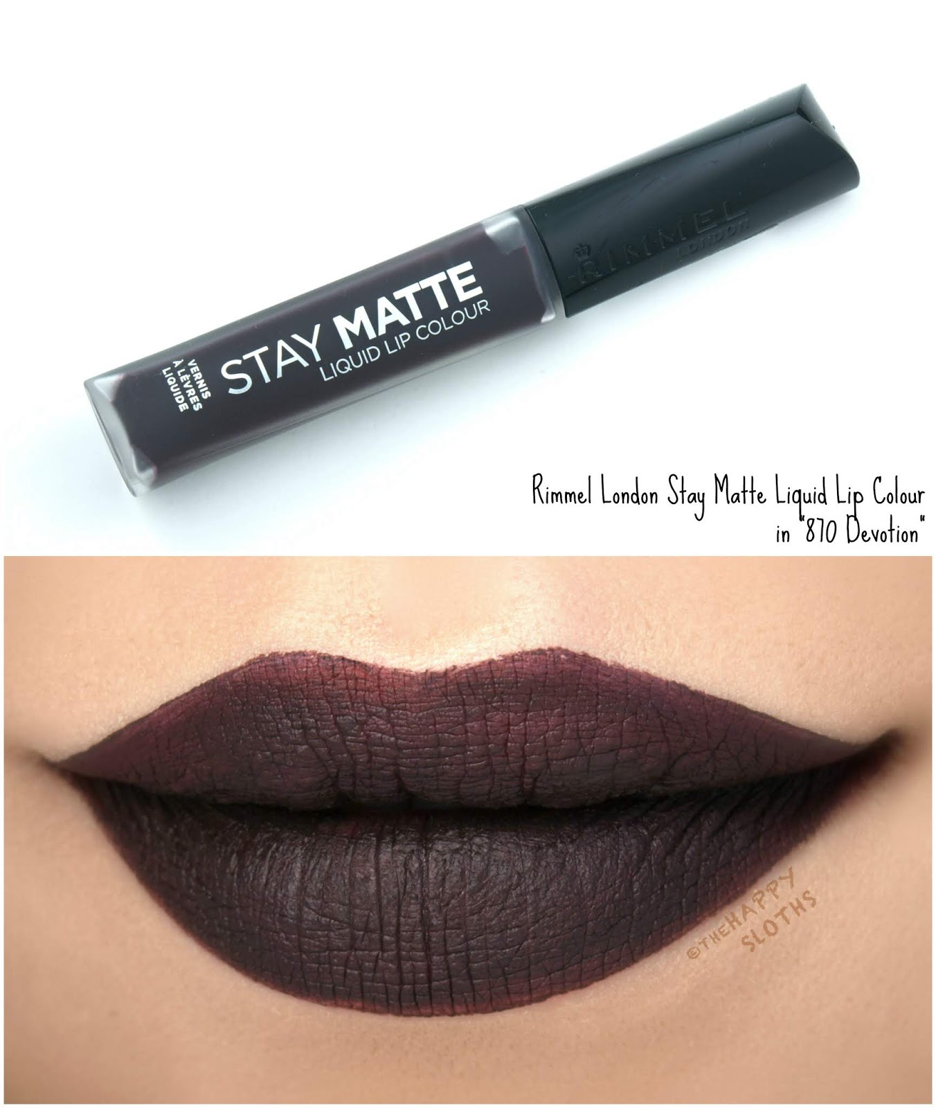 "Rimmel London | Stay Matte Liquid Lip Colour in ""870 Devotion"": Review and Swatches"
