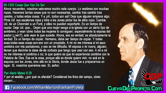 Porque allá es donde quiero vivir - William Branham en Español