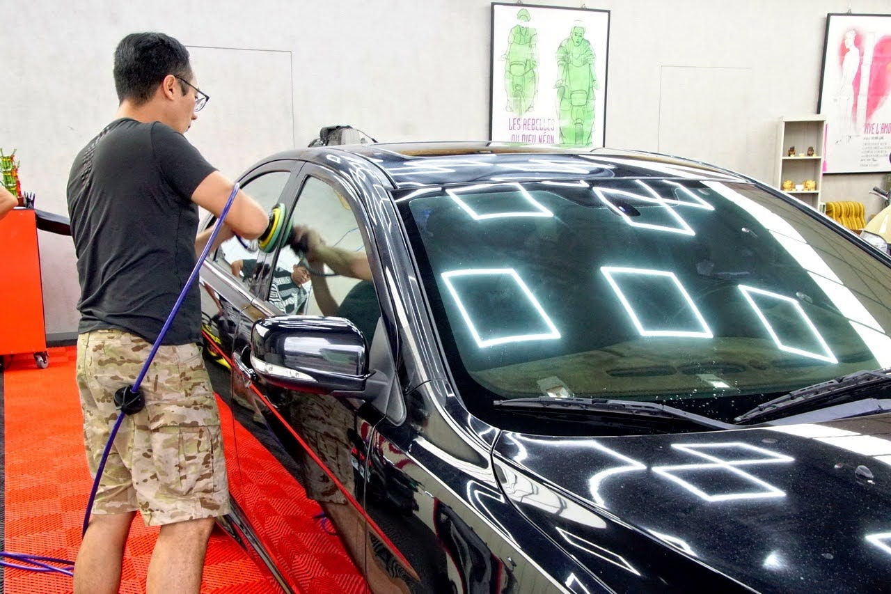 台南|168汽車美容|歸仁洗車|專業拋光|稀土鍍膜|汽車護理|店家