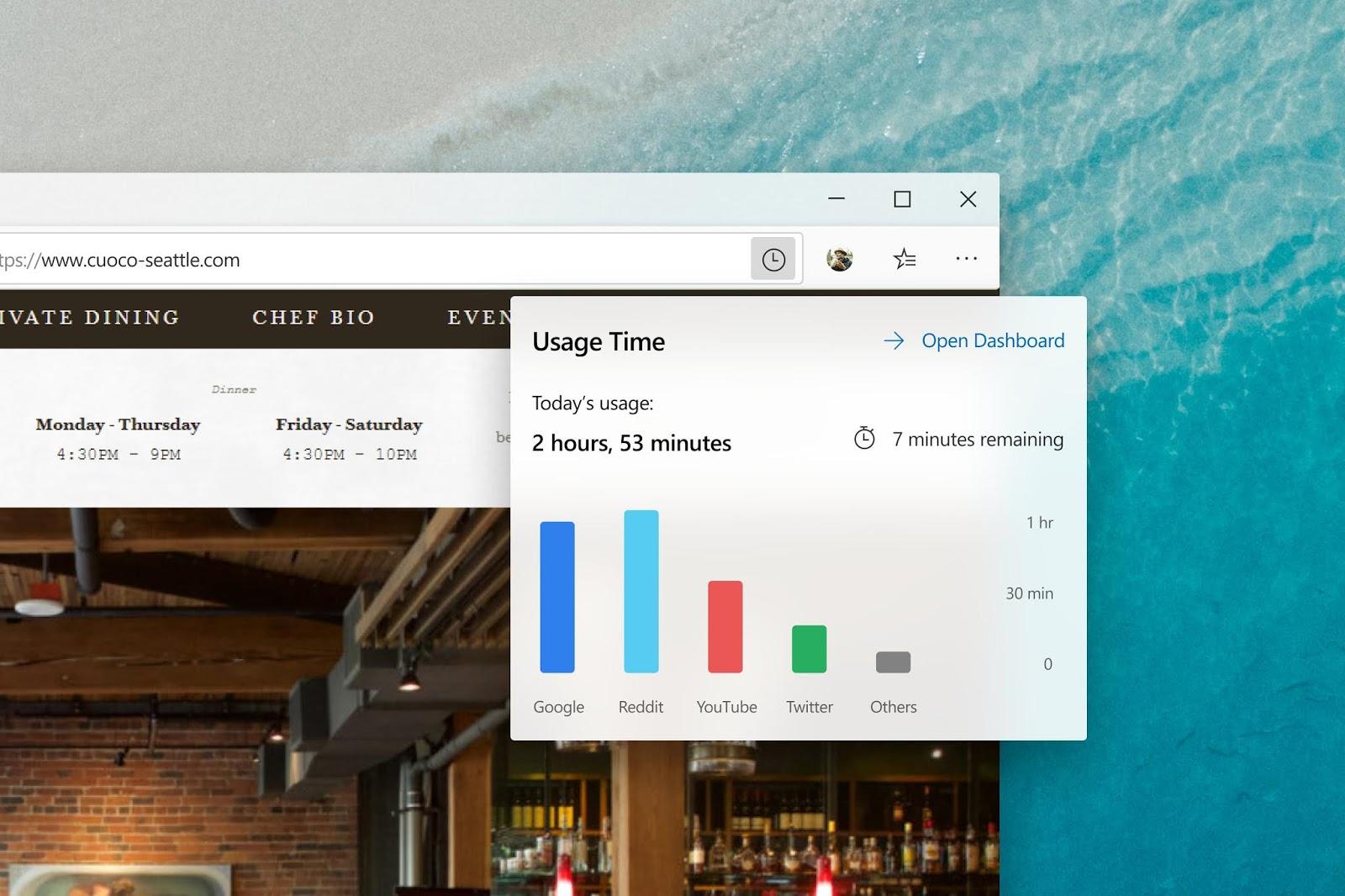 Quanto tempo trascorri online dovrebbe dirtelo il tuo browser