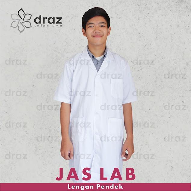 0812 1350 5729 Konveksi Harga Jas Laboratorium Lengan Pendek Murah dan Grosir di Jakarta Selatan