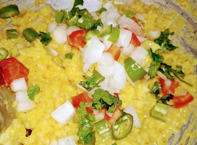 Dalia recipe for breakfast