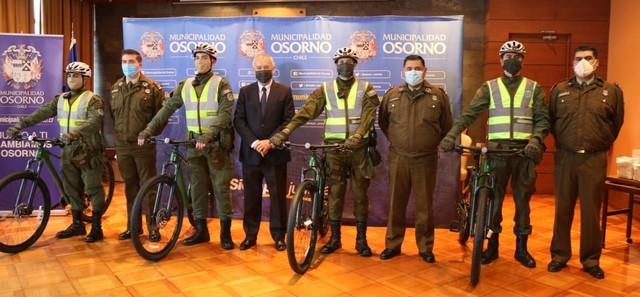 Osorno: Nuevas bicicletas para Carabineros🚨🚲