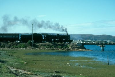 Garden Route, Outeniqua Choo Tjoe steam train, George, Knysna, South Africa