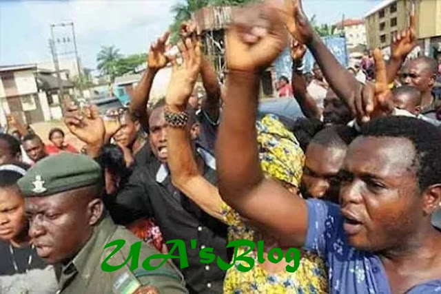 South-South Christians shutdown Asaba in protest against indiscriminate killings by herdsmen
