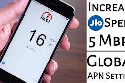 Increase Jio Speed 5mb/s - Global Apn Setting 100% Working Trick | Jio Speed Kaise Badhaye