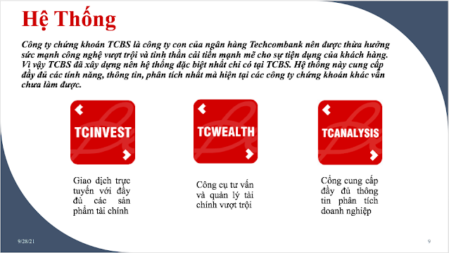 Hệ thống TCBS