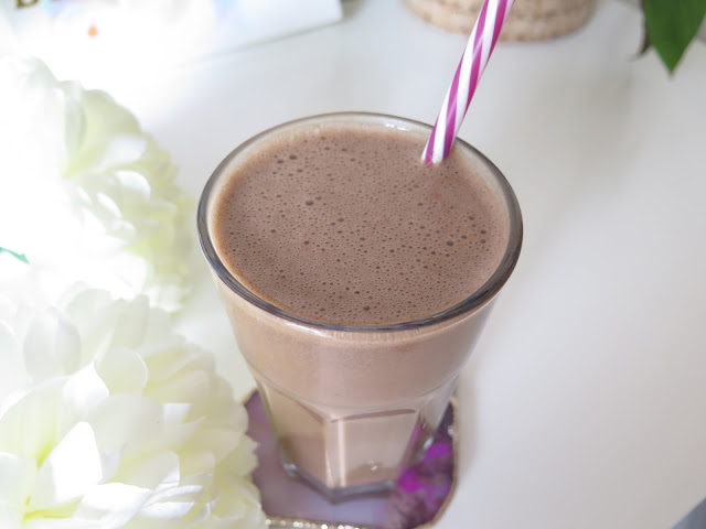 vegan coffee shake, protein shake, protein smoothie