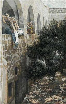 Η σφαγή των Αθώων. Έργο του James Jacques Joseph Tissot (1836-1902)