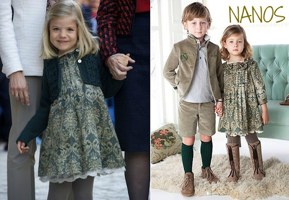 Infanta Sofia. Nanos, leading company in high quality and exclusive kidswear design since 1963.