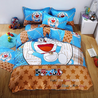 Contoh Seprei Motif Doraemon - Kamar Anak 200164