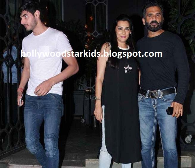 Lock Up By Karan Djpunjab: Bollywood Star Kids: Sunil Shetty's Son Ahan Making His