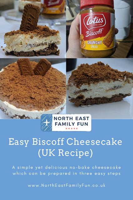Easy Biscoff Cheesecake (UK Recipe)