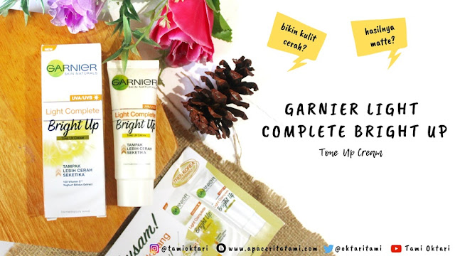 Garnier Light Complete Bright Up Tone Up Cream