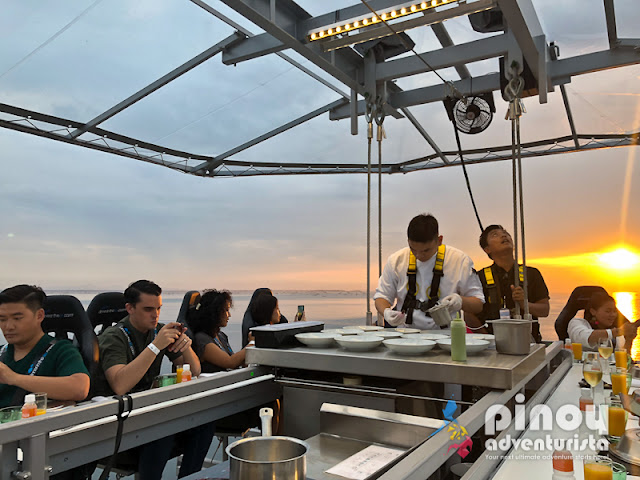 Dinner in the Sky Philippines Review Cost Food Photos Rates Online Booking