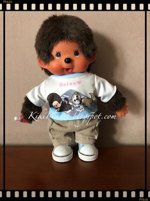 kiki monchhichi doll poupée happy trip 45th birthday sekiguchi plus secret tokyo