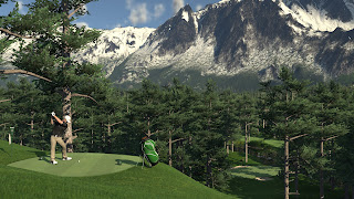 The Golf Club 2 PSP Wallpaper
