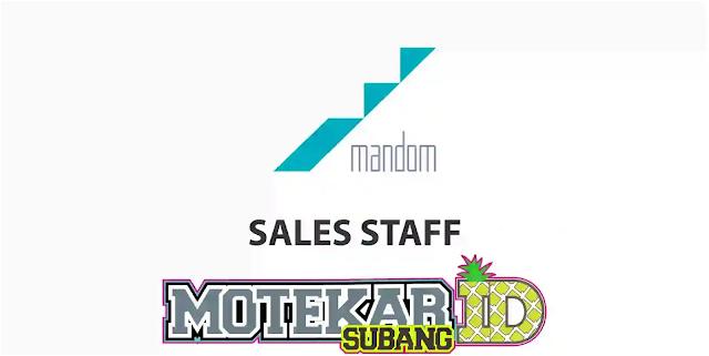 Lowongan Kerja Staff PT Mandom Indonesia Tbk Juli 2020